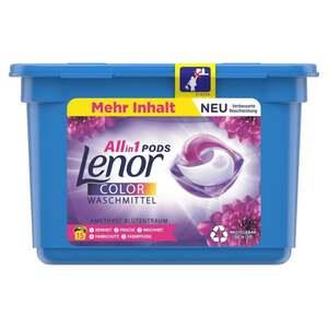 Lenor All-in-1 Pods Colorwaschmittel Amethyst Blütentraum 15WL