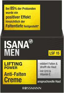 ISANA MEN Lifting Power Anti-Falten Creme