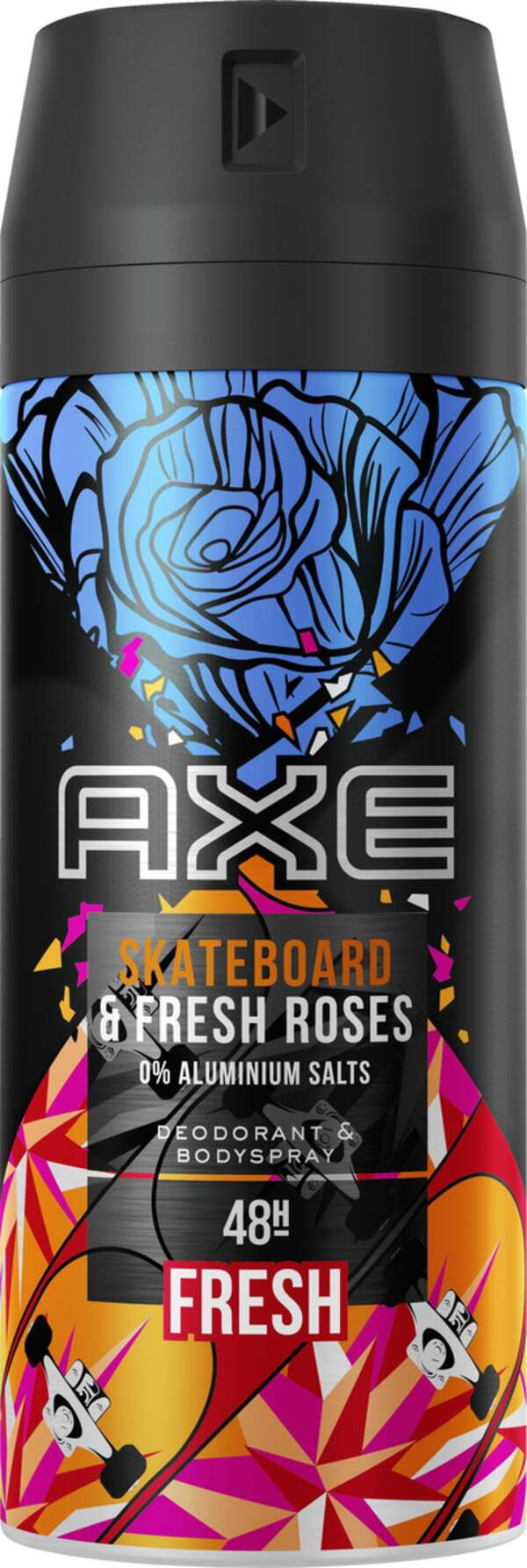 AXE Deodorant & Bodyspray Skateboard & Fresh Roses