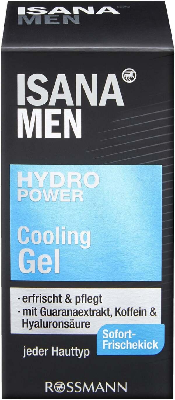 ISANA MEN Hydro Power Cooling Gel