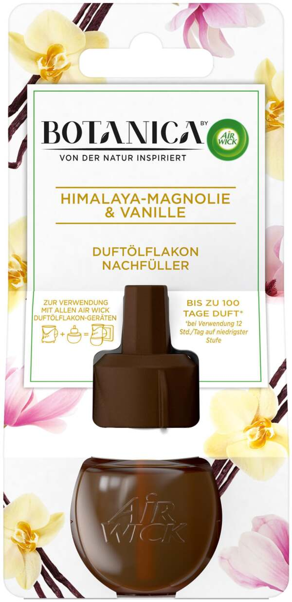 Air Wick Botanica Duftölflakon Nachfüller Himalaya-Magnolie & Vanille
