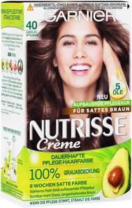 Garnier Nutrisse Creme dauerhafte Pflege-Haarfarbe 40 Chocolate Mittelbraun