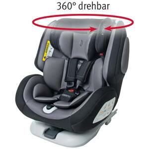 "osann Kinderautositz ""One360°"", Pixel Black"