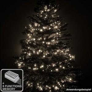 LED Lichterkette mit 1200 LED und 8 Funktionen