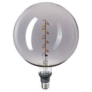 ROLLSBO LED-Leuchtmittel E27 200 lm, dimmbar/rund Klarglas grau