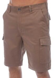 Light Eigo - Cargo Shorts für Herren - Braun