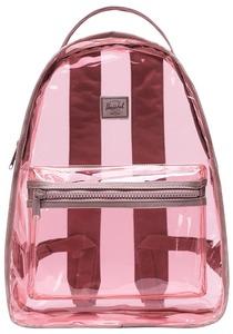 HERSCHEL SUPPLY CO Nova Mid Clear 18L - Rucksack für Damen - Pink