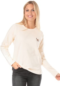 Wemoto Deer - Sweatshirt für Damen - Beige