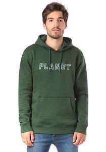 PLANET SPORTS Logo - Kapuzenpullover für Herren - Grün