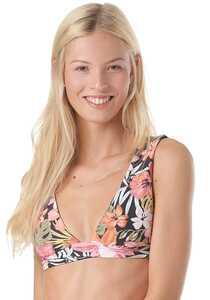 BILLABONG Wild Tropic Plunge - Bikini Oberteil für Damen - Mehrfarbig