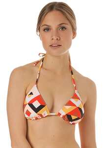 BILLABONG S.S Slide Tri - Bikini Oberteil für Damen - Mehrfarbig