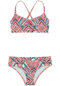 Chiemsee Bustier Bikini-Set - Bikini Set für Mädchen - Mehrfarbig