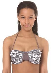 Rip Curl Del Mare Bandeau - Bikini Oberteil für Damen - Weiß