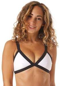Rip Curl Mirage Ultimate Block Tri - Bikini Oberteil für Damen - Weiß