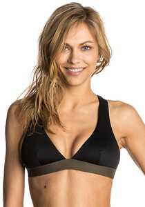 Rip Curl Mirage Ultimate Halter - Bikini Oberteil für Damen - Schwarz