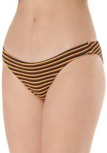 RVCA Bondi Stripe Medium - Bikini Hose für Damen - Streifen