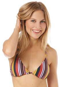 RVCA Talum Racerback - Bikini Oberteil für Damen - Mehrfarbig