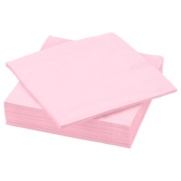 FANTASTISK Papierserviette, hellrosa