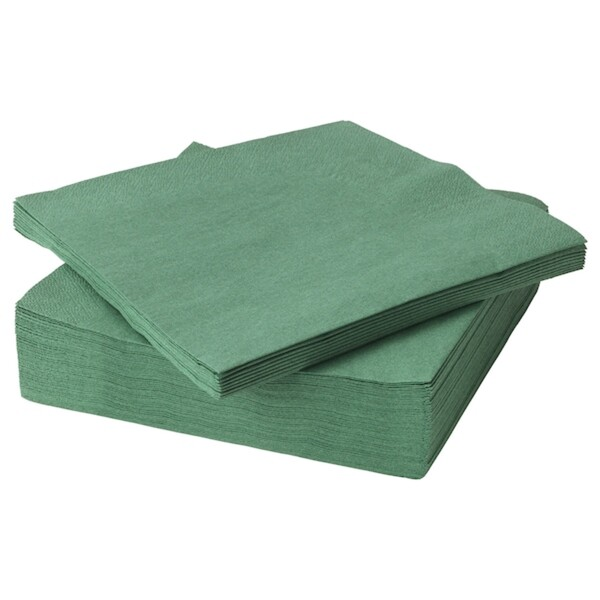 FANTASTISK Papierserviette, dunkelgrün
