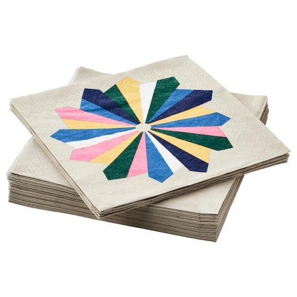 JÄMNGOD Papierserviette, versch. Farben