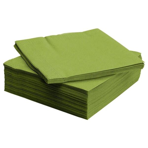 FANTASTISK Papierserviette, mittelgrün