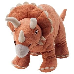 JÄTTELIK Stofftier, Dinosaurier/Triceratops