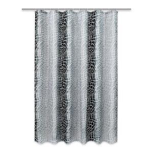 Calimosa Duschvorhang - schwarz-grau - 180x200 cm