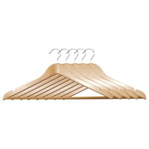 Kesper Formkleiderbügel Holz 5 Stück