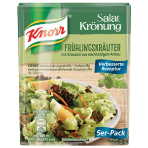 Knorr Salatkrönung Frühlingskräuter 5 Stück