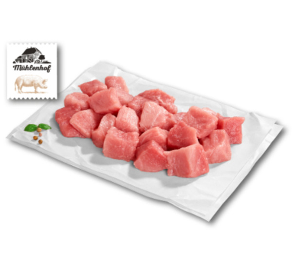 MÜHLENHOF Frisches Schweine-Gulasch