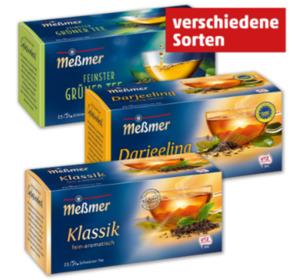 MEßMER Schwarz-/Grüntee