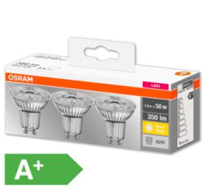 OSRAM LED-Reflektoren, GU10/50 W, 350 lm