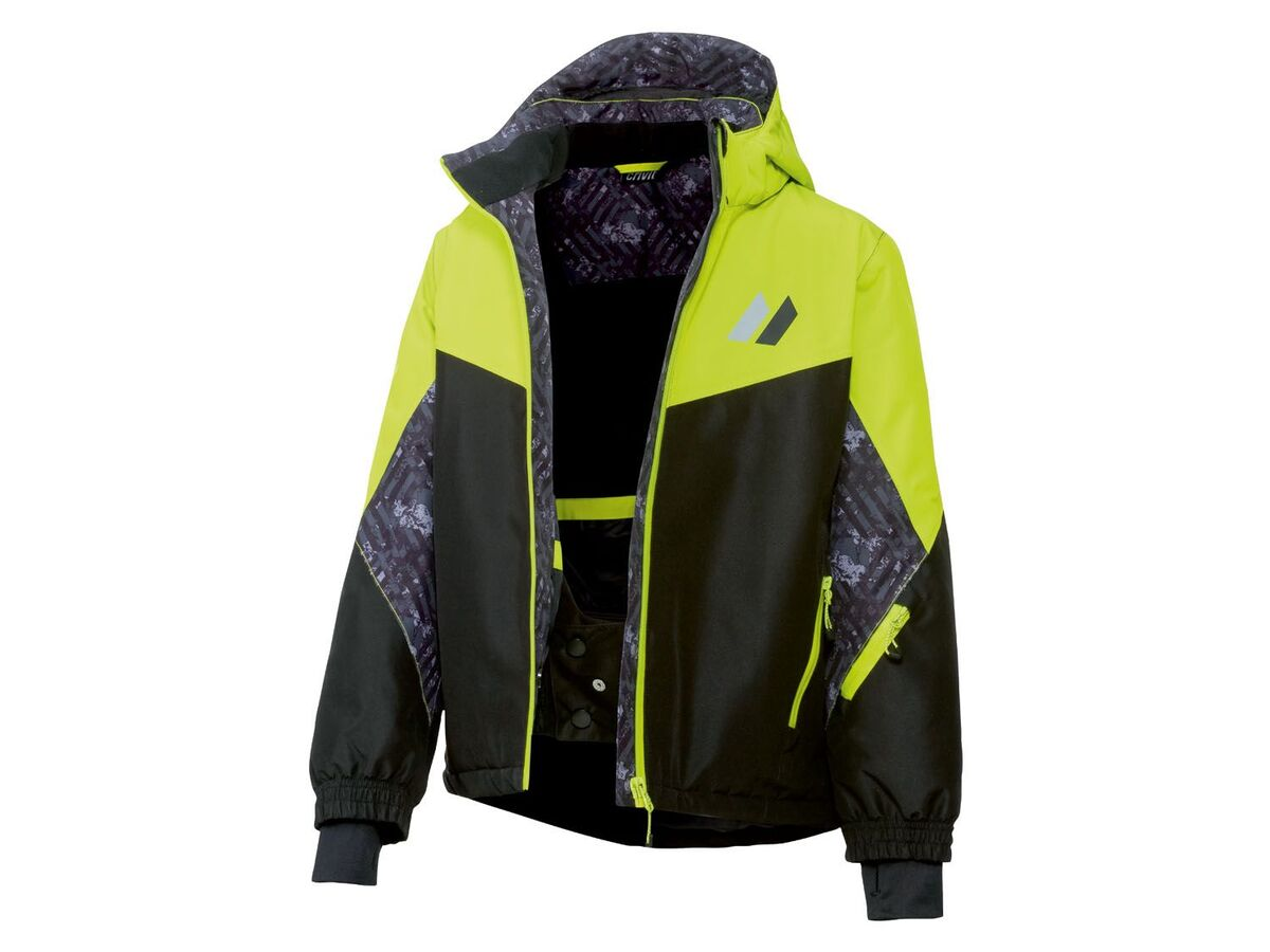 Bild 2 von CRIVIT® Skijacke Jungen, mit Skipasstasche, wasserdicht