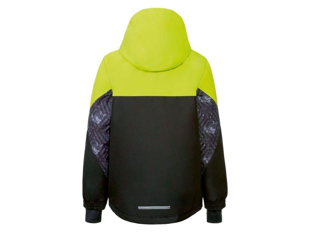 Bild 3 von CRIVIT® Skijacke Jungen, mit Skipasstasche, wasserdicht