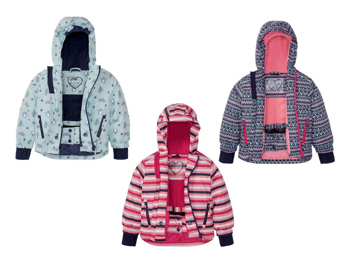 Bild 1 von CRIVIT® Kleinkinder Skijacke Mädchen, mit umweltfreundlicher Imprägnierung