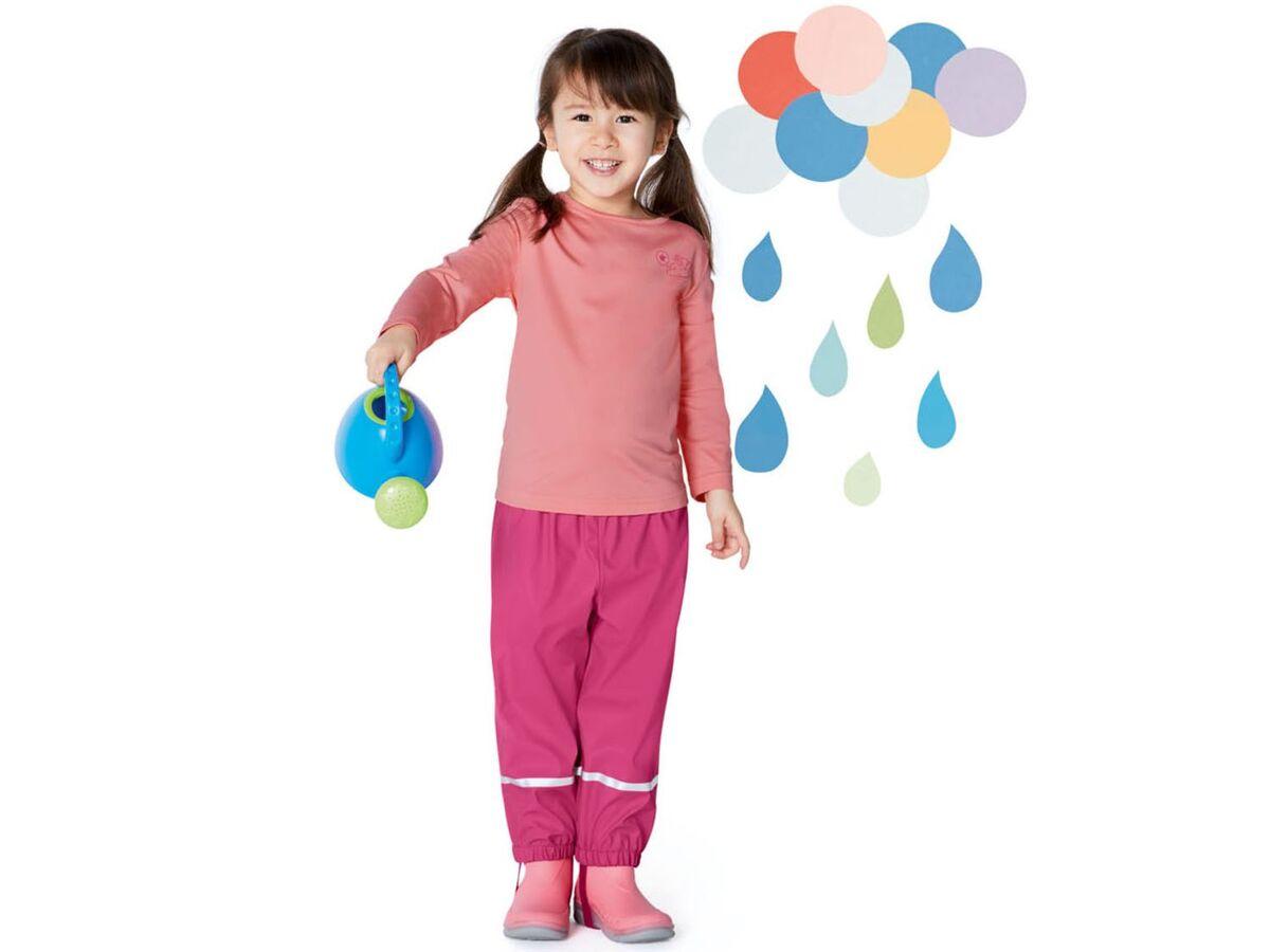 Bild 3 von LUPILU® Kleinkinder Langarmshirt Thermo Mädchen, 2 Stück