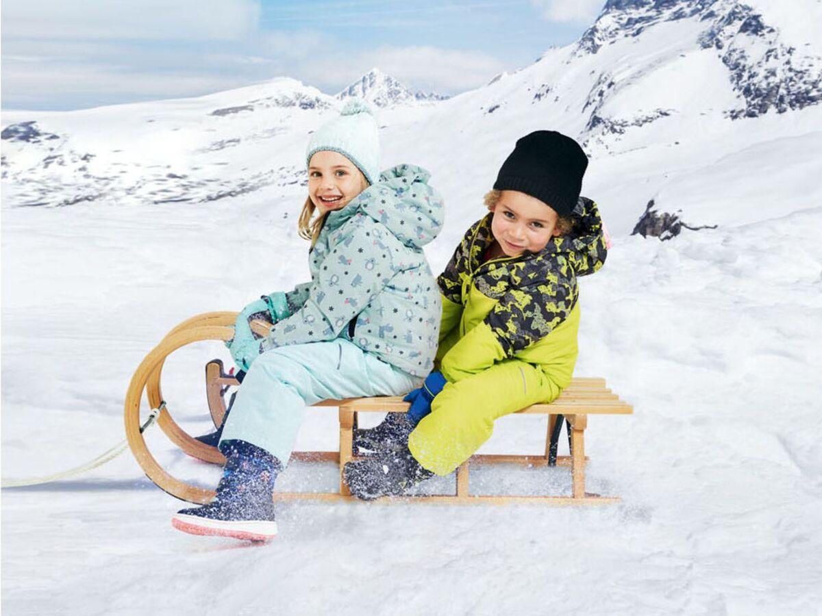 Bild 3 von LUPILU® Kleinkinder Sportmütze Mädchen, mit Fleecefutter