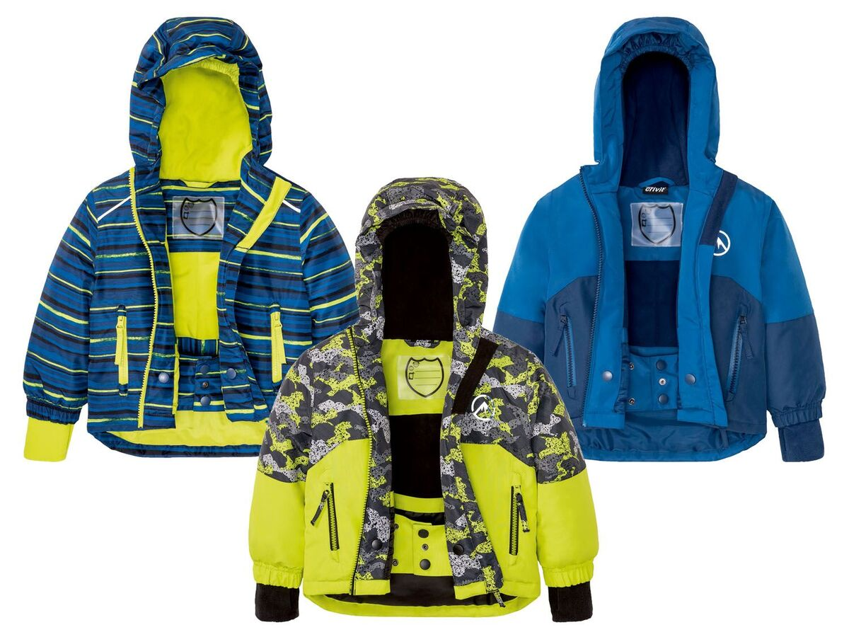 Bild 1 von CRIVIT® Kleinkinder Skijacke Jungen, wasserdicht