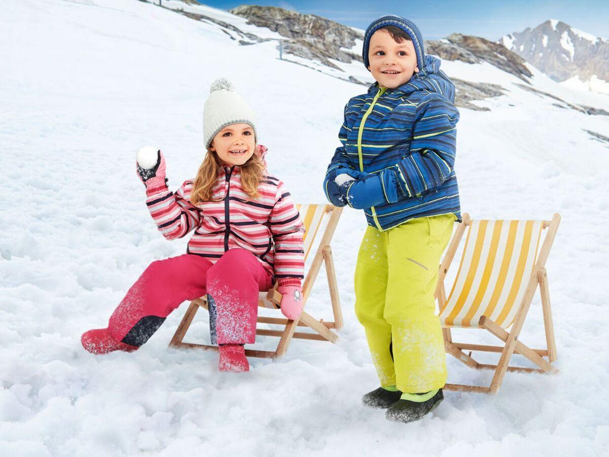 Bild 4 von CRIVIT® Kleinkinder Skijacke Jungen, wasserdicht
