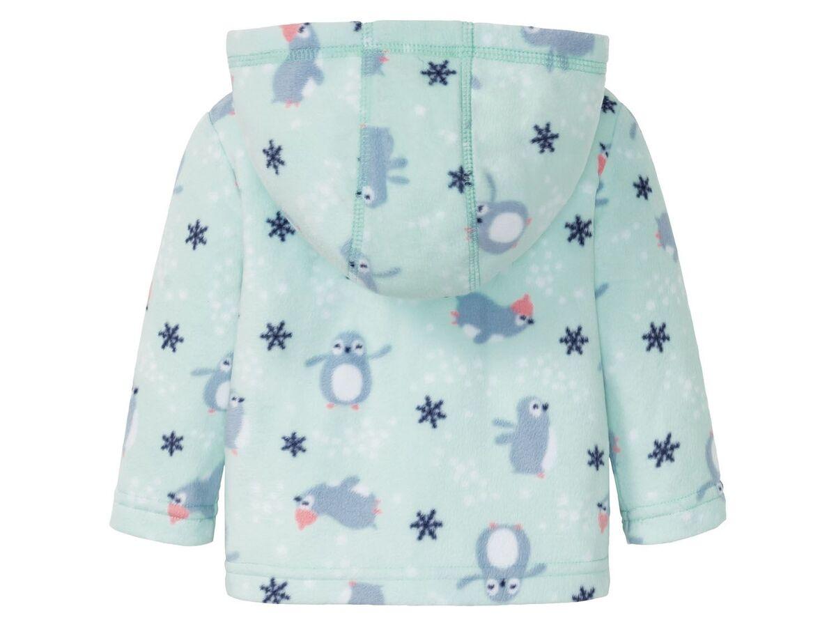 Bild 4 von LUPILU® Baby Fleeceanzug Mädchen, mit Kinnschutz
