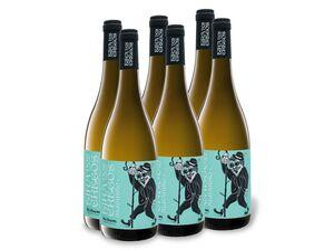 6 x 0,75-l-Flasche Weinpaket Eira dos Cregos Albariño Rías Baixas DO trocken, Weißwein