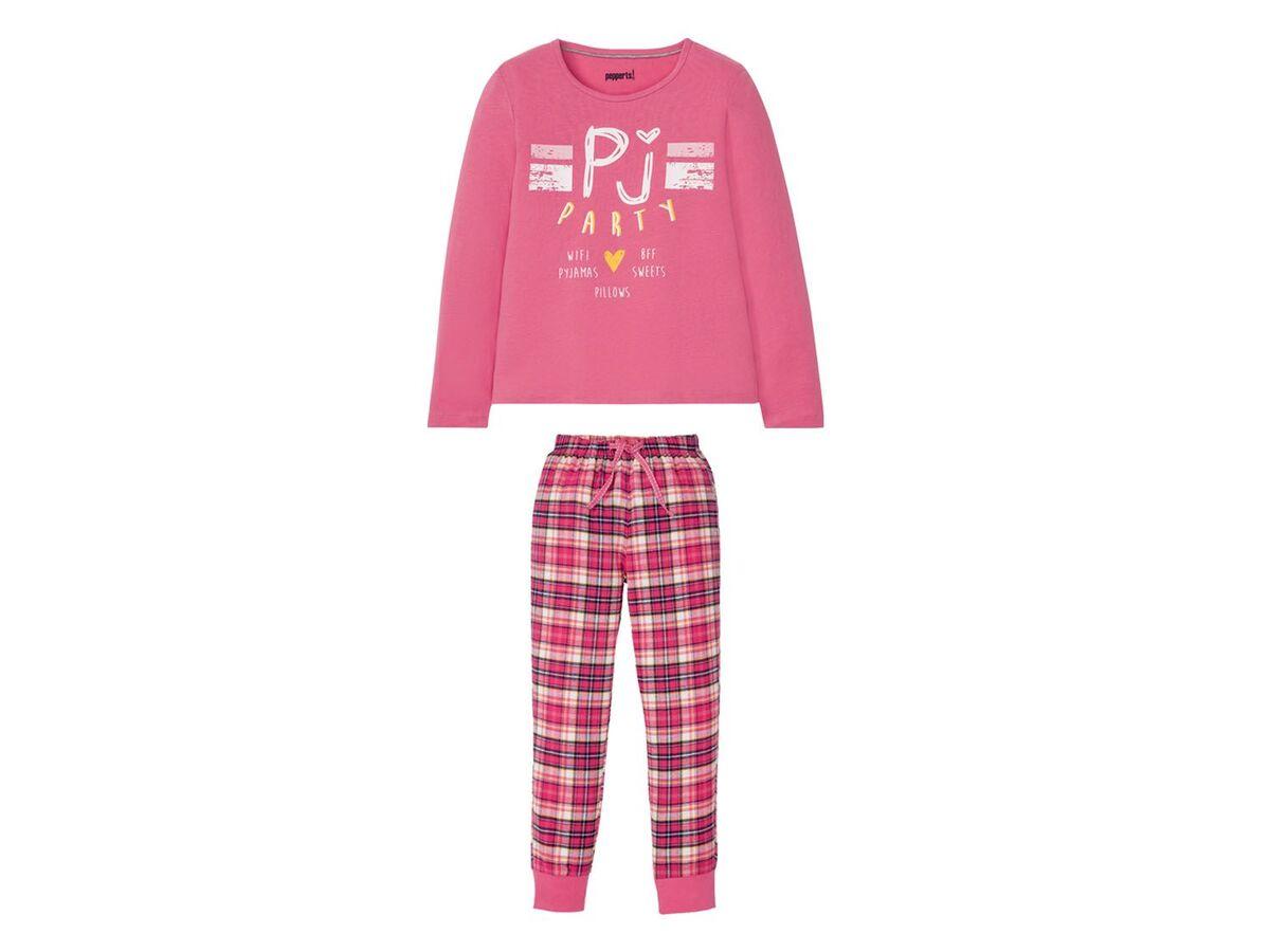 Bild 3 von PEPPERTS® Kinder Pyjama Mädchen, mit elastischem Bund