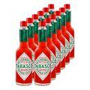 Bild 1 von Tabasco Sauce rote Pfeffersauce 60 ml, 12er Pack