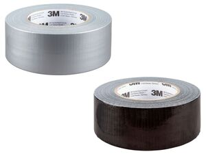 3M Gewebe-Reparaturband, 2 Stück, wasserfest, ablösbar