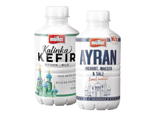 Müller Kalinka Kefir fettarm-mild/ Ayran