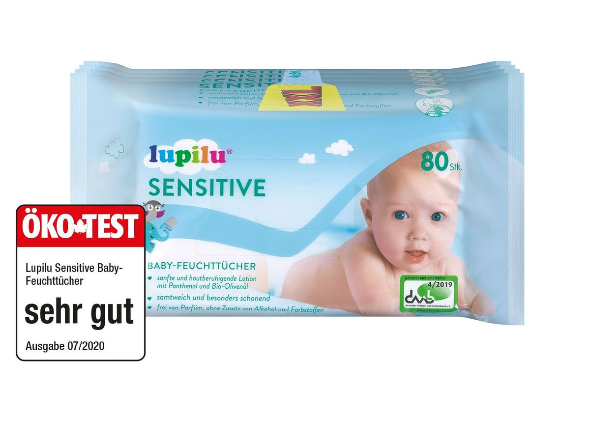 Bild 1 von Babyfeuchttücher