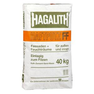 Hagalith-Haftputz FF 40 kg