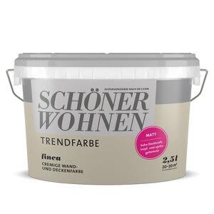 """Schöner Wohnen Farbe              Trendfarbe """"Finca"""", Matt, 2,5 L"""