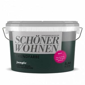 """Schöner Wohnen Farbe              Trenfarbe """"Jungle"""", Matt, 2,5 L"""