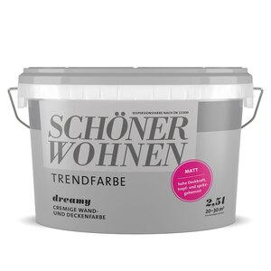 """Schöner Wohnen Farbe              Trendfarbe """"Dreamy"""", Matt, 2,5 L"""
